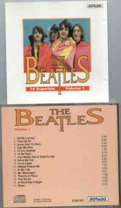 The Beatles - 16 Superhits by The Beatles Volume One ( DORADO )