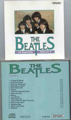 The Beatles - 16 Superhits by The Beatles Volume Two     ( DORADO )