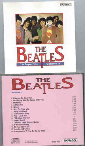The Beatles - 16 Superhits by The Beatles Volume Three  ( DORADO )