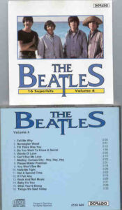 The Beatles - 16 Superhits by The Beatles Volume Four ( DORADO )
