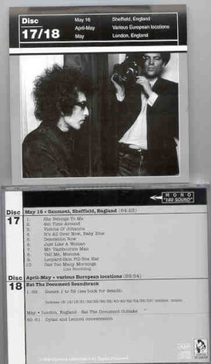 Bob Dylan - 1966 Definitive Collection Jewels & Binoculars 17/18 ( Vigotone ) ( 2 CD!!!!! SET )
