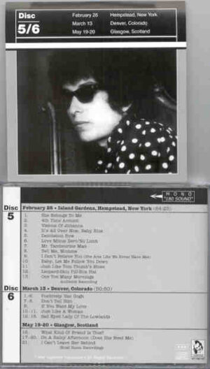 Bob Dylan - 1966 Definitive Collection Jewels & Binoculars 5/6 ( Vigotone ) ( 2 CD!!!!! SET )