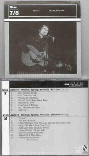 Bob Dylan - 1966 Definitive Collection Jewels & Binoculars 7/8 ( Vigotone ) ( 2 CD!!!!! SET )