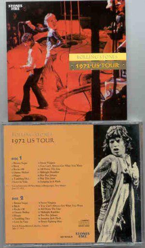 Rolling Stones - 1972 US Tour ( 2 CD!!!!! set ) ( Stones Fire )