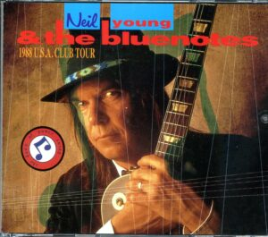 Neil Young / CSNY - 1988 USA Club Tour ( 2 CD!!!!! set )( With The Bluenotes at The World , New York , USA , April 19th , 1988 , First Show )