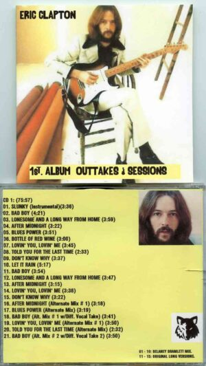 Eric Clapton - 1st Album Outtakes & Sessions ( 2 CD!!!!! SET ) ( 21 Tracks From the First Album Sessions )