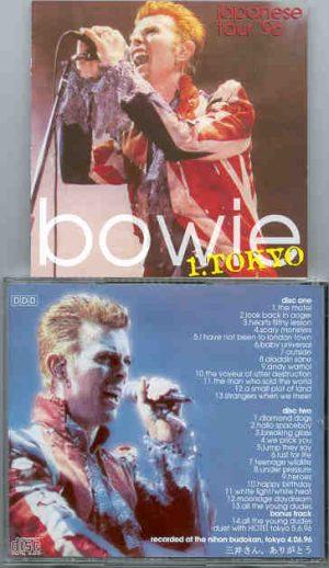David Bowie - 1. Tokyo  ( Japanese Tour 1996 ) ( 2 CD!!!!! set ) ( Nihon Budokan , June 4th , 1996 )
