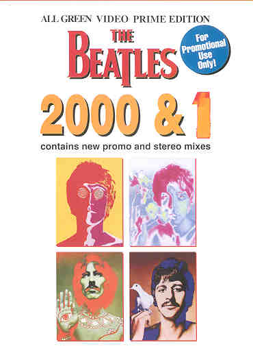 DVD The Beatles - 2000 & 1
