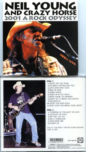 Neil Young / CSNY - 2001 A Rock Odyssey ( 2 CD!!!!! set ) ( Live at The Point Theatre , Dublin , Ireland , June 12th , 2001 )