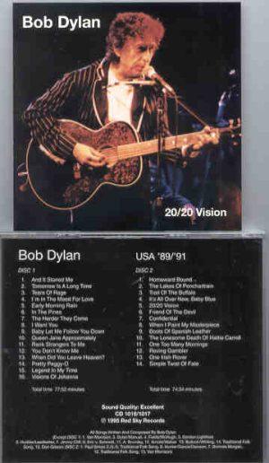 Bob Dylan - 20 / 20 Vision  ( USA 1989 - 1991 )