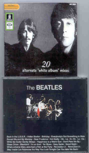 The Beatles - 20 Alternate White Album Mixes ( Odeon )