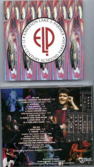 Emerson , Lake & Palmer - 21st Century Schizoid Tarkus  ( Highland ) ( 2 CD!!!!! set )( Burlington , VT , USA , August 2nd , 1998 )