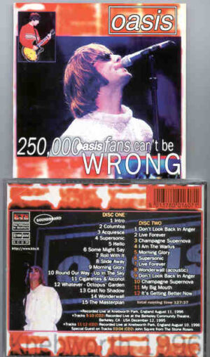 Oasis - 250.000 Oasis Fans Can't Be Wrong ( 2CD SET ) ( KTS )
