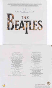 The Beatles - 25 Greatest Hits ( Monkey Clown 2010 )