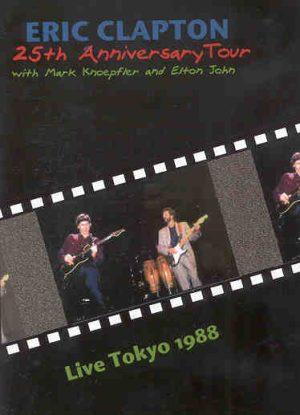 DVD Eric Clapton - Live In Tokyo 1988 ( With Mark Knoppler & Elton John )