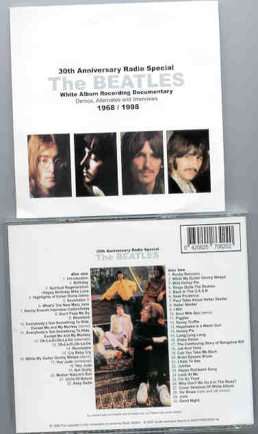 The Beatles - 30th Anniversary White Album Radio Special ( 2 CD SET )