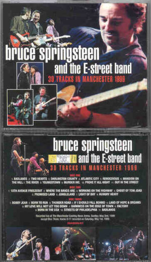 Bruce Springsteen - 30 Tracks In Manchester ( 3CD SET )( Manchester Evening News Arena , 1999 )