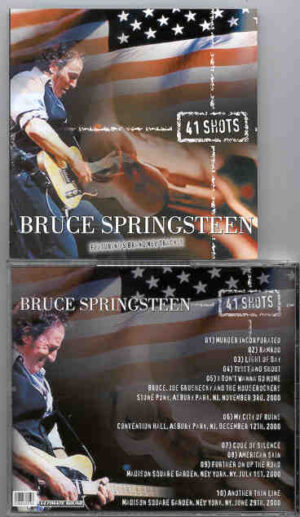 Bruce Springsteen - 41 Shots ( New Jersey & New York , 2000 )