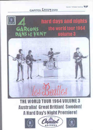 DVD The Beatles - Hard Days And Nights ( 4 Garcons Dans Le vent )