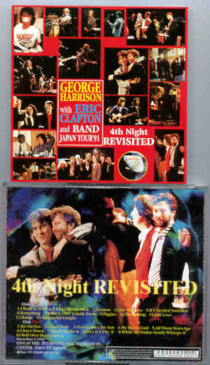 George Harrison - 4th Night Revisited ( W/ Eric Clapton ) ( Dec 5th 1991 , Japan ) ( 2 CD!!!!! set )