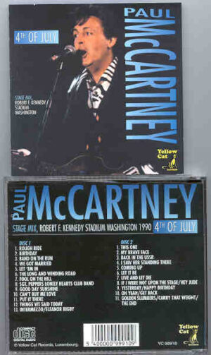 Paul McCartney - 4th Of July ( Yellow Dog ) ( 2 CD!!!!! set )