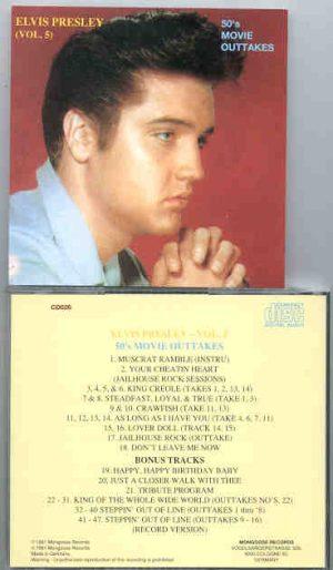 Elvis Presley - 50's Movie Outtakes