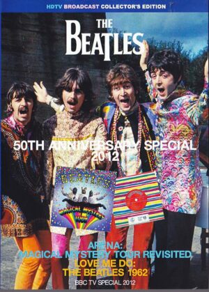 DVD The Beatles - 50th Anniversary Special 2012