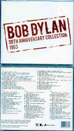 Bob Dylan - 50th Anniversary Collection 1963 ( 4CD ) 2013 Song Music Entertainment Poland