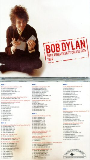 Bob Dylan - 50th Anniversary Collection 1964 ( 6 CDs SET - 40 Pages Booklet )