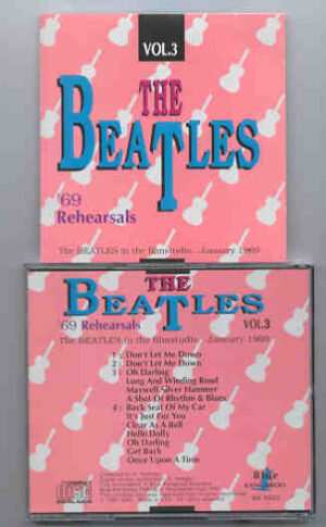 The Beatles - '69 Rehearsals Vol. 3  ( Blue Kangaroo )