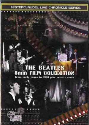 DVD The Beatles - 8 mm Film Collection ( Misterclaudel )
