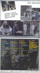 The Beatles - Abbey Road Multi Tracks Separated ( 3 CD SET ) ( WWII )
