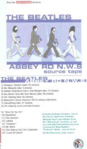 The Beatles - Abbey Road N.W. 8 The Source Tape ( Darthdisc )