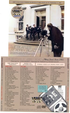 The Beatles - 1983 Abbey Road Video Show ( 1 CD - 1 DVD )( Misterclaudel )