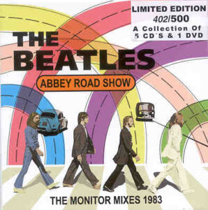 The Beatles - Abbey Road Show The 1983 Monitor Mixes ( 5 CD + 1 DVD + 20 page Booklet Set )