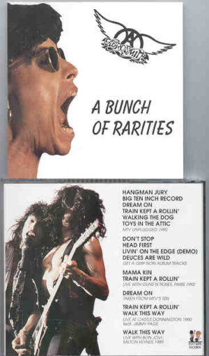 Aerosmith - A Bunch Of Rarities (Get a Grip non album Tracks , Live w/ Guns And Roses '92 , W/ Jimmy Page 1992 & More )