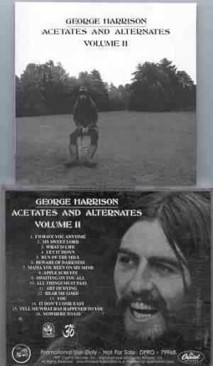 George Harrison - Acetates And Alternates Vol. 2