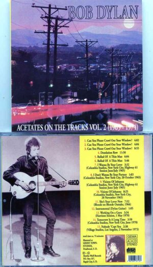 Bob Dylan - Acetates On The Vol. 2 ( 1965 - 1974 ) ( Highway 61 Revisited sessions, CBS Studio A, NY )