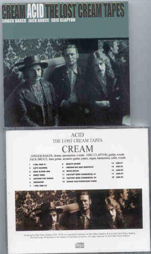 Eric Clapton - Acid ( The Lost Cream Tapes )