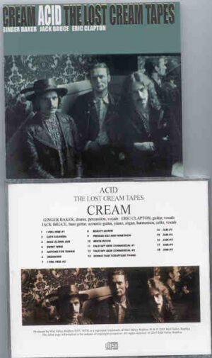 Jack Bruce - Acid ( The Lost Cream Tapes )