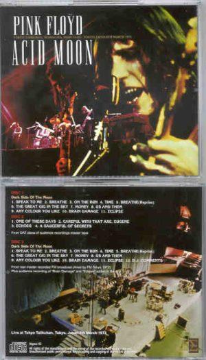 Pink Floyd - Acid Moon ( 3 cd set ) ( SIGMA ) ( Taiikukan , Tokyo , Japan , March 6th , 1972 )