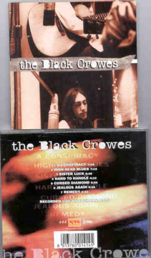 Black Crows - A Conspiracy ( KTS ) ( Live on Tour , January 1995 )