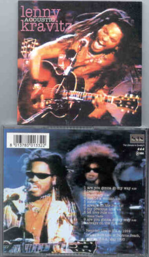 Lenny Kravitz - Acoustic ( KTS )( Live In USA 1994 )