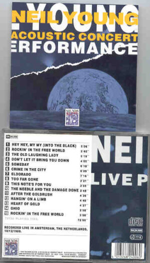 Neil Young / CSNY - Acoustic Concert  ( Live in Holland , 1989 )