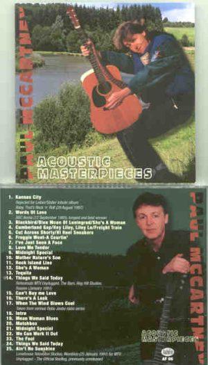 Paul McCartney - Acoustic Masterpieces ( Audiofon )
