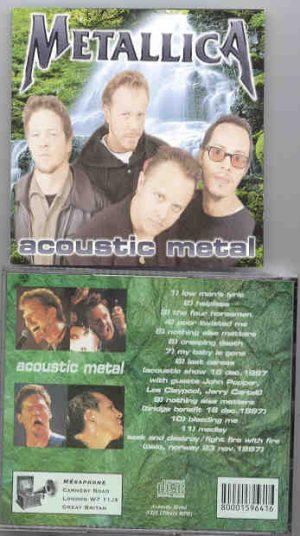 Metallica - Acoustic Metal ( Live in Norway , November 23rd , 1997 )