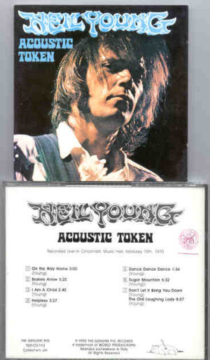 Neil Young / CSNY - Acoustic Token ( Swingin' Pig ) ( Cincinnati Music Hall , February 10th , 1970 )