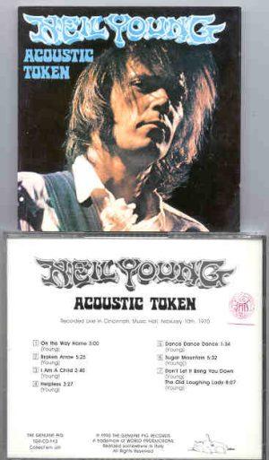 Neil Young / CSNY - Acoustic Token   ( Swingin' Pig ) ( Cincinnati Music Hall , February 10th , 1970 )