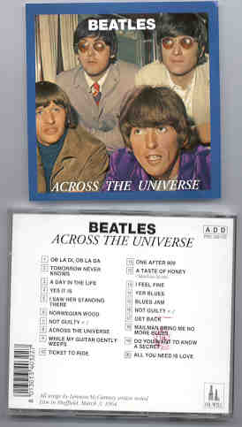 The Beatles - Across The Universe ( Oil Well Recs. )