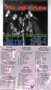 The Beatles - Adelaide Reaction ( Live ) ( Purple Chick ) ( 2 CD!!!!! set )
